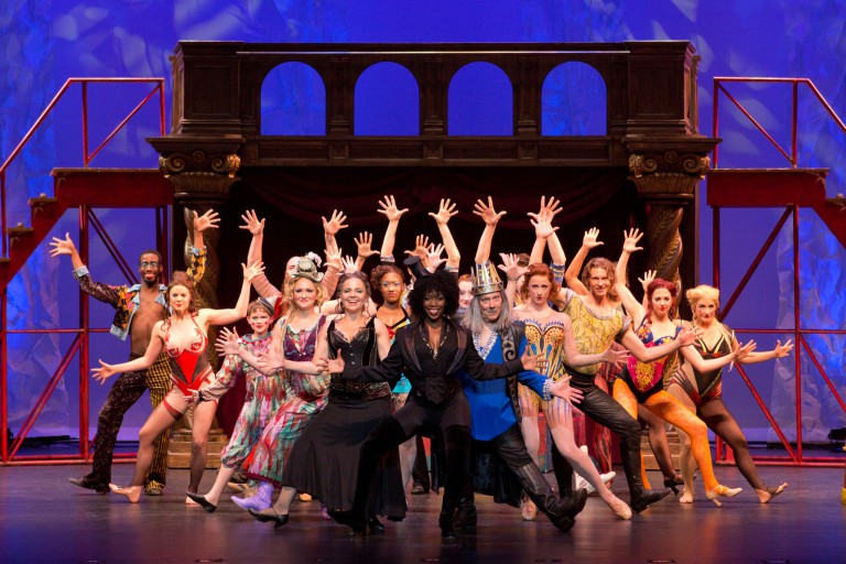 The 'Pippin' company in costume.