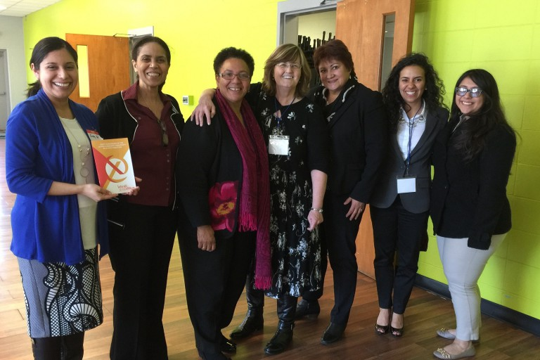 Founding members of the Latinx Community-University Research Coalition