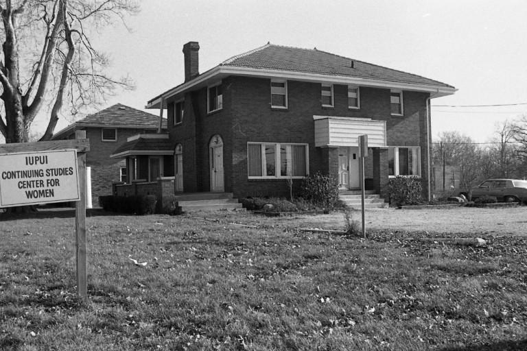 Continuing Studies Center for Women exterior, 1979.
