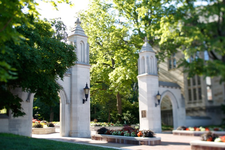 IU Bloomington's Sample Gates