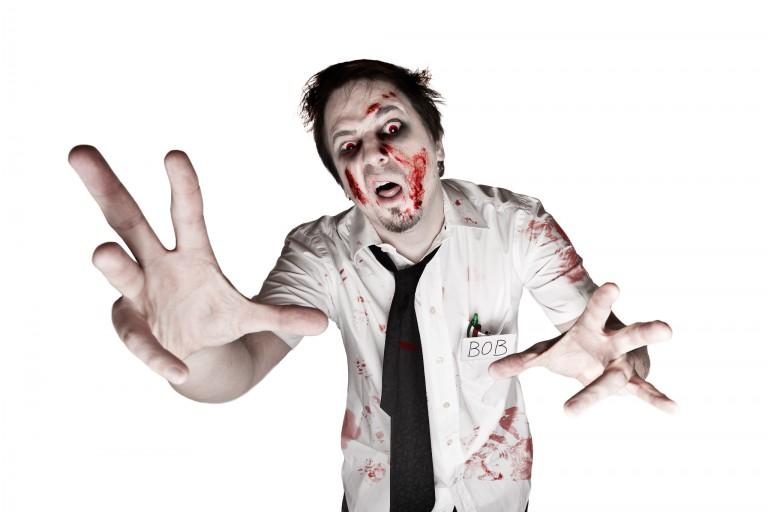 A zombie named Bob