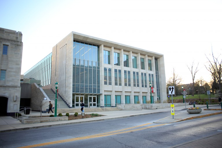 The O'Neill School of Public and Environmental Affairs at IU Bloomington.