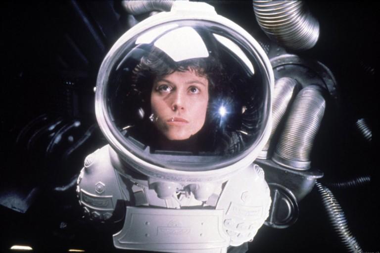 Still of Sigourney Weaver from Ridley Scott's film 'Alien'