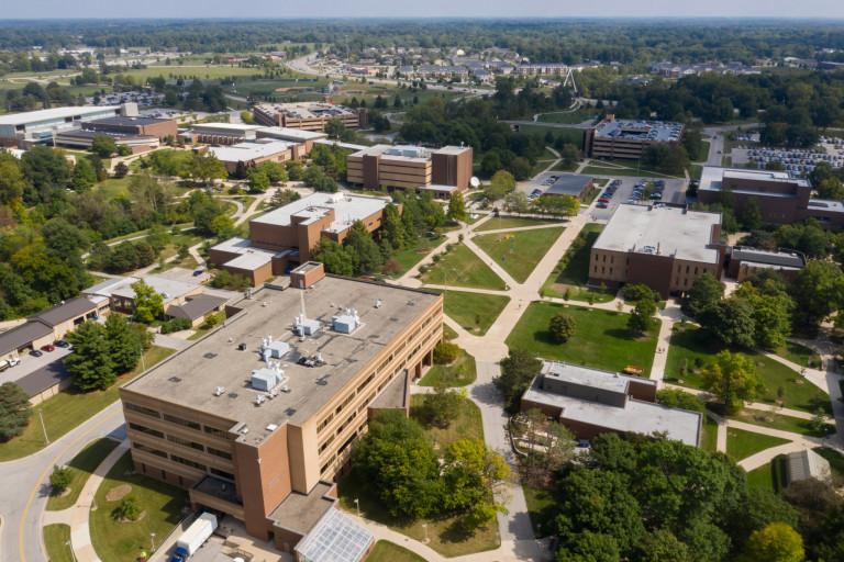 IU Fort Wayne aerial view
