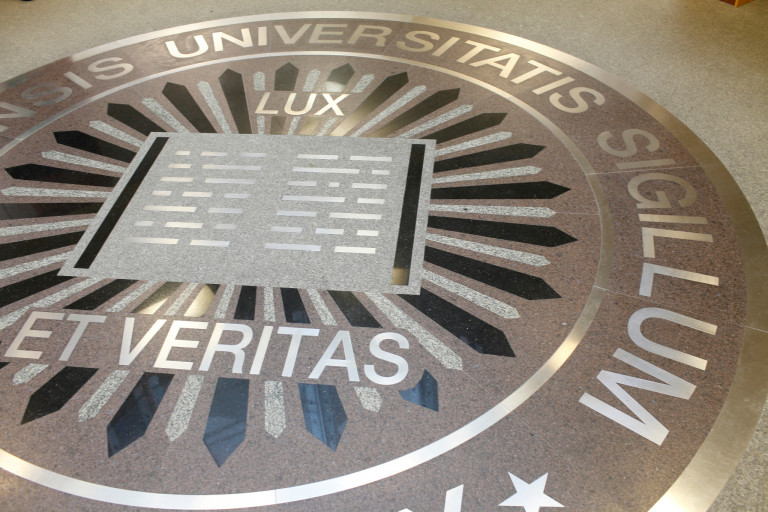 The seal of Indiana University