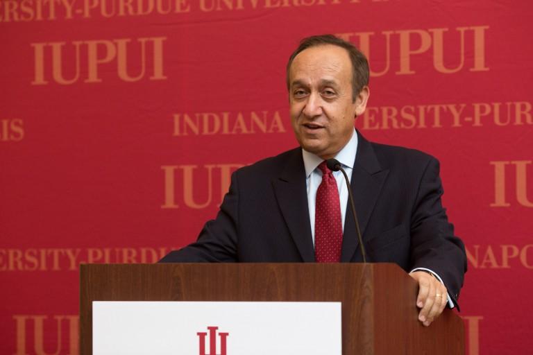 IUPUI Chancellor Nasser Paydar