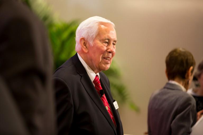 Former Sen. Richard Lugar