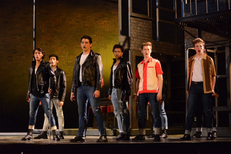 Scenes from 'West Side Story' dress rehearsal