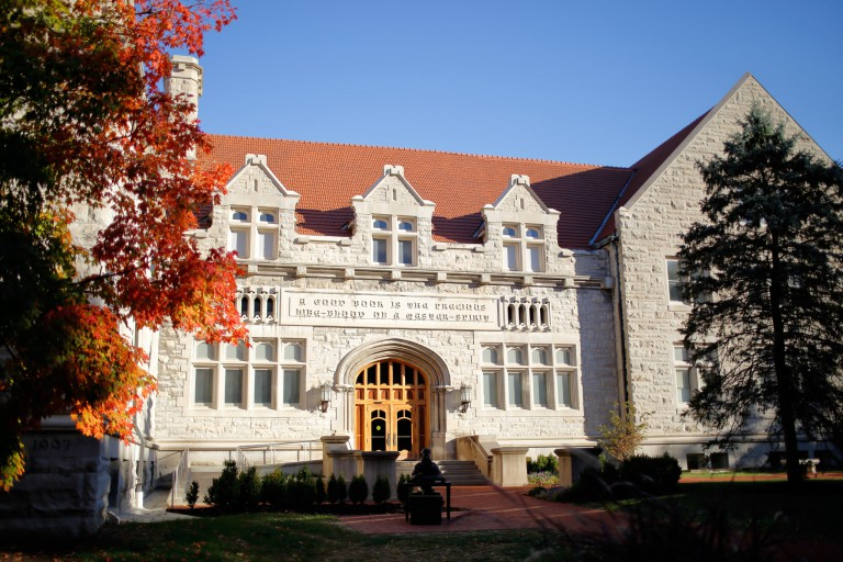 Franklin Hall, home of The Media School