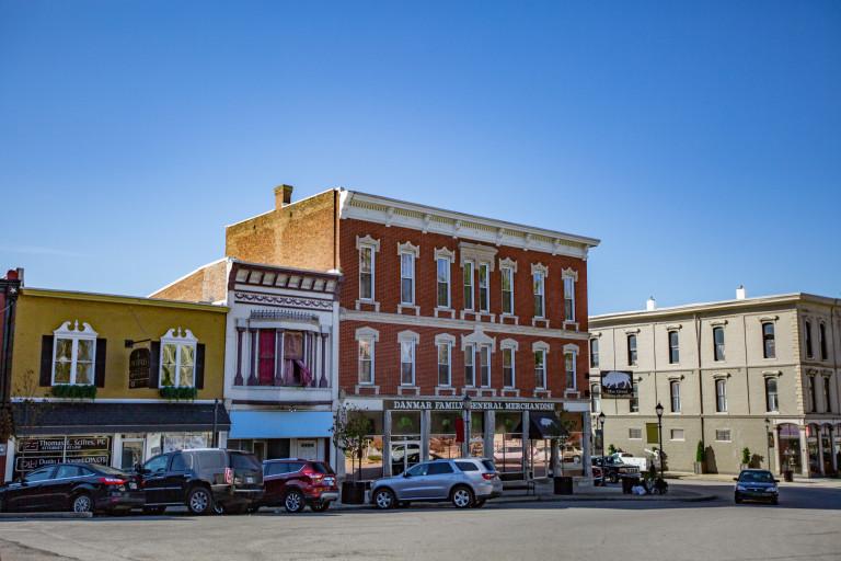 Washington County streetscape
