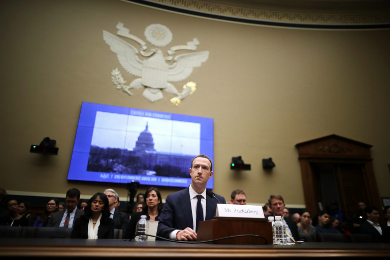 Mark Zuckerberg testifies before Congress