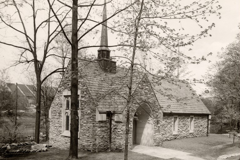 Beck Chapel in 1957