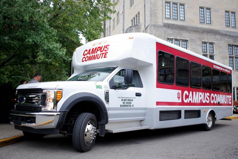 Campus Commute shuttle bus