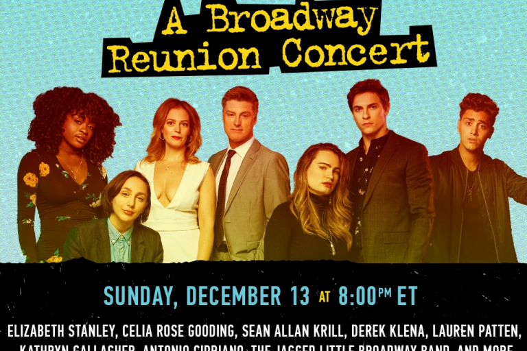 Jagged Live in NYC: A Broadway Reunion Concert. Sunday, December 13 at 8 p.m. ET.