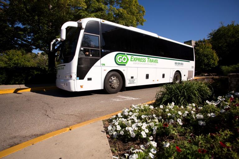 The Campus Commute shuttle