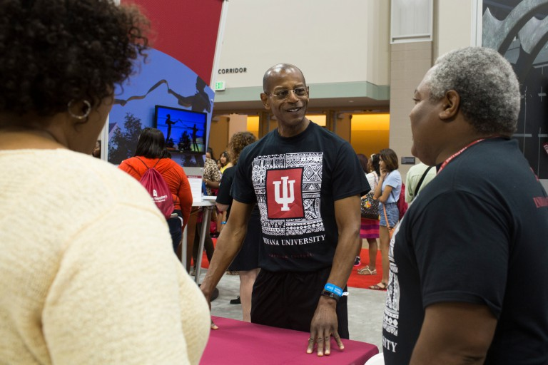 James Wimbush at the Indiana Black Expo Summer Celebration.