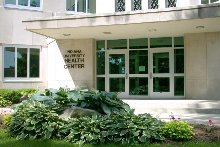 The IU Health Center building
