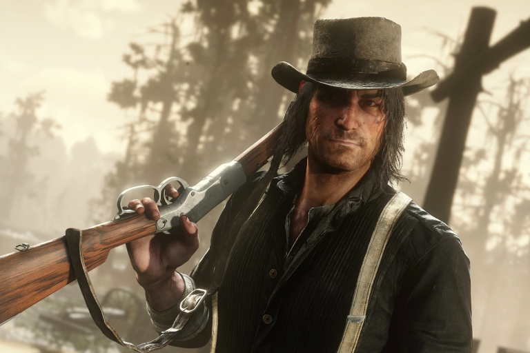 John Marston, an outlaw in the Red Dead Redemption video game series