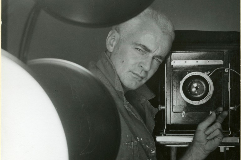 Photographer George Platt Lynes.