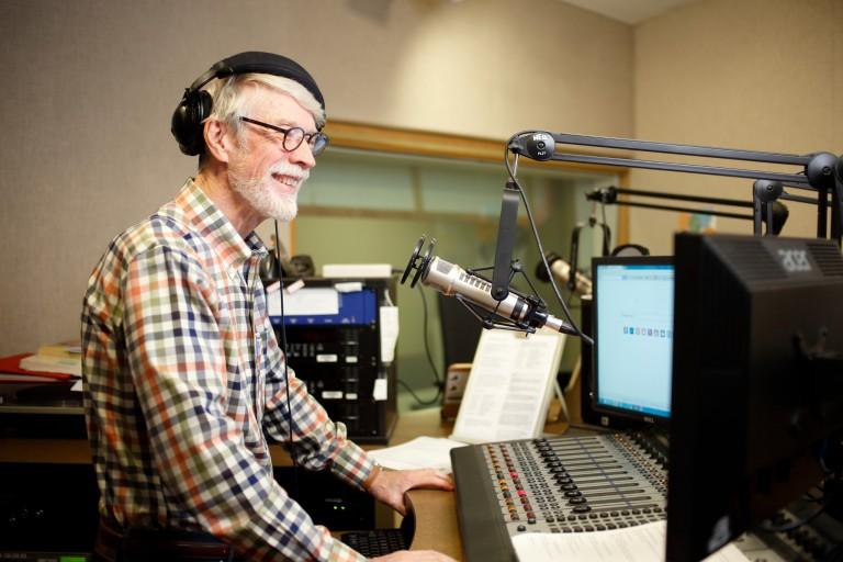 George Walker speaks on WFIU radio