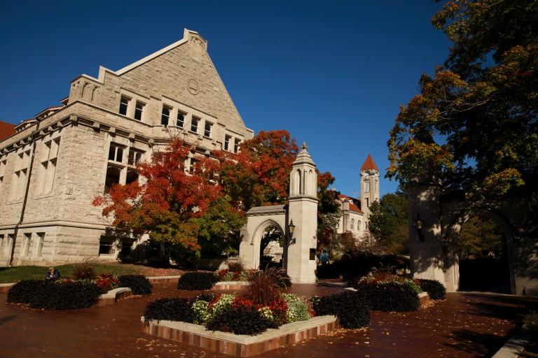 The Sample Gates at IU Bloomington