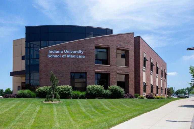 The IU School of Medicine building at IU Fort Wayne