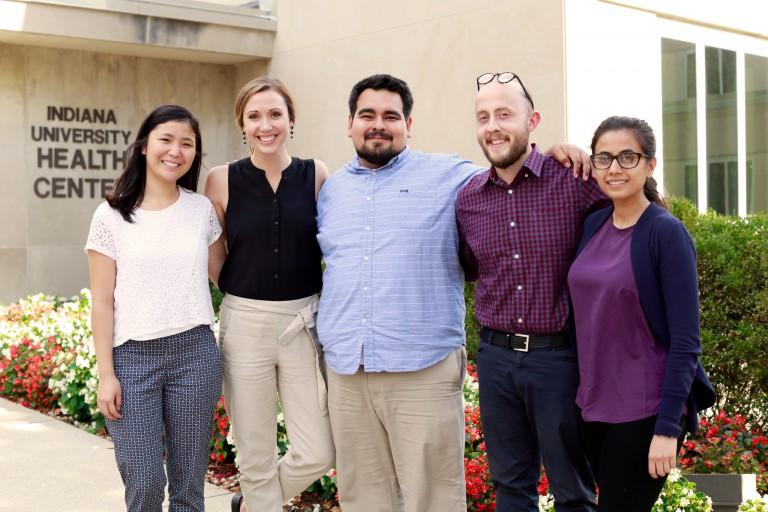 Daisy Anspach, Liv Mercer, Enrique Silva, Brandon Muncy and Fatima Zaidi