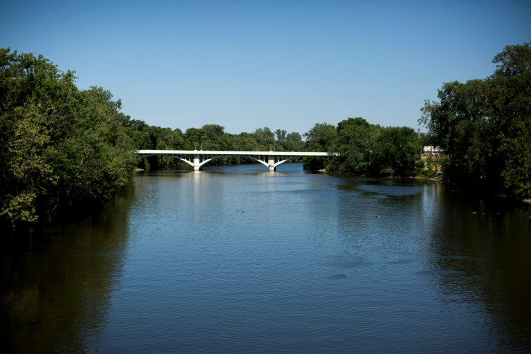 St. Joseph River at South Bend