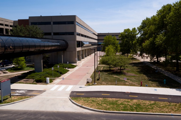 Kelley School of Business building at IUPUI