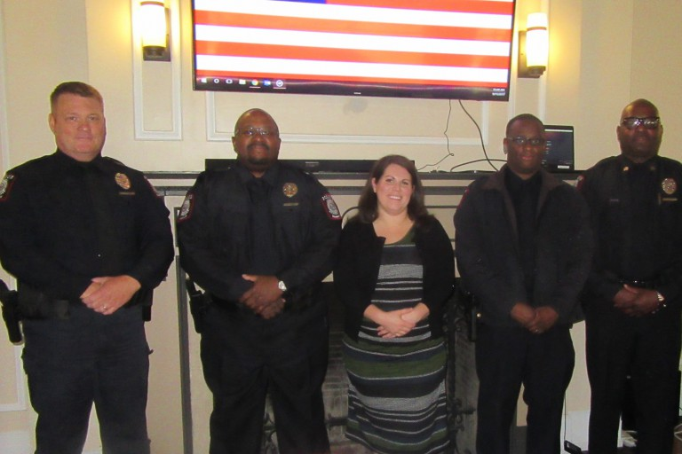 Award winners from the 2017 IUPD Indianapolis Awards Ceremony