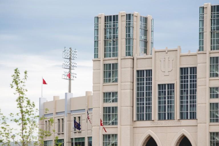 Exterior of Memorial Stadium