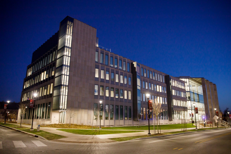 Exterior of Luddy Hall, home of the School of Informatics, Computing and Engineering.
