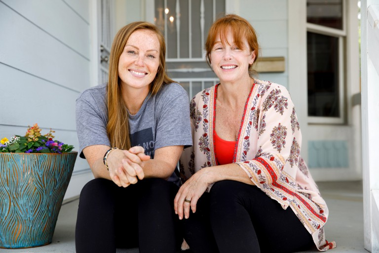 Mina Starsiak and Karen E Laine of HGTV show 'Good Bones'