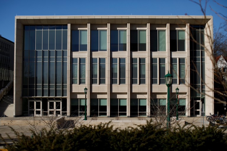 SPEA building on the IU Bloomington campus