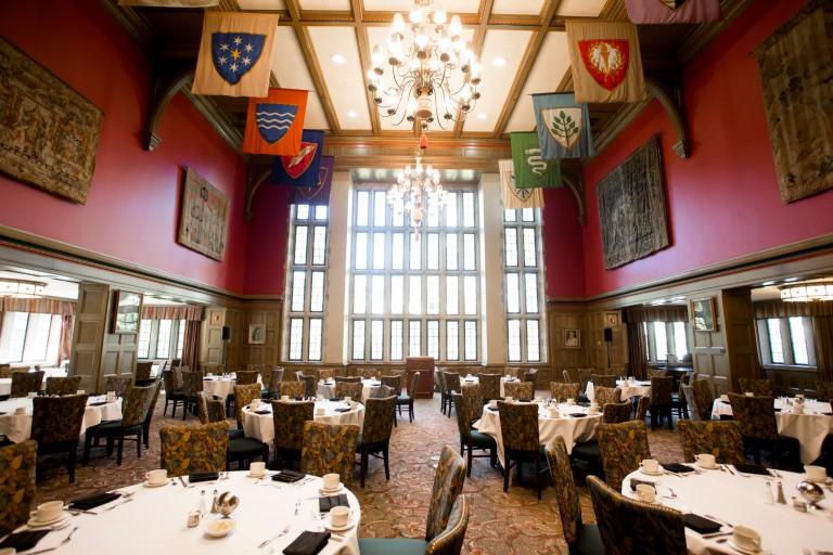 Interior of the Tudor Room