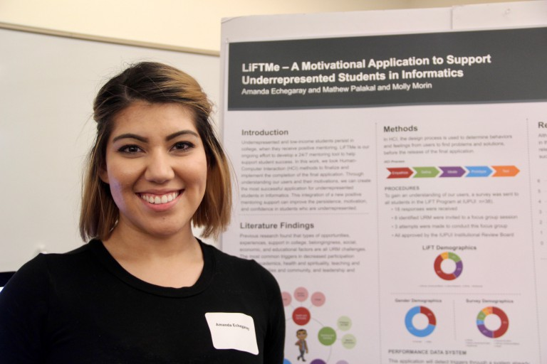 Informatics senior Amanda Echegaray
