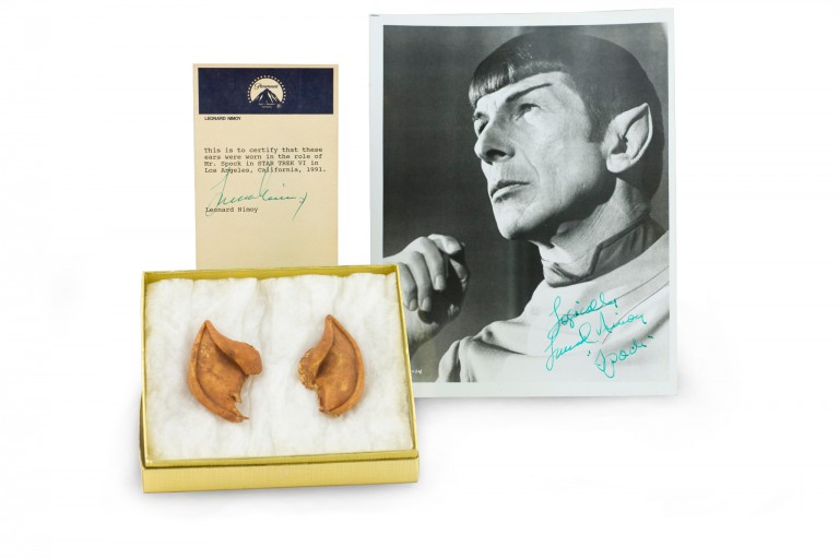 Fake ears worn by Spock from Star Trek