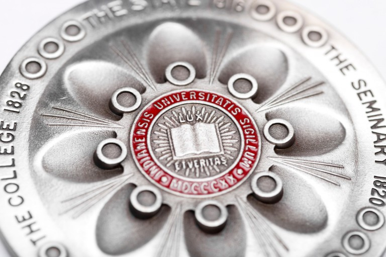 Close up of president's medal for excellence