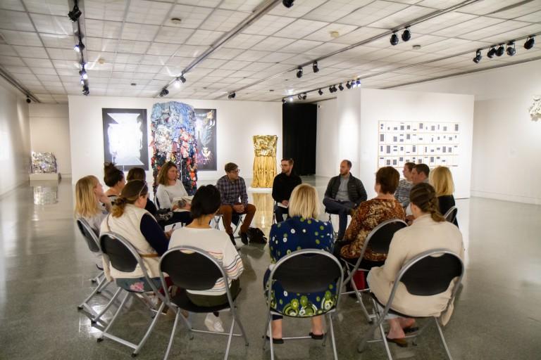 IU Arts and Humanities Council representatives discuss arts initiatives