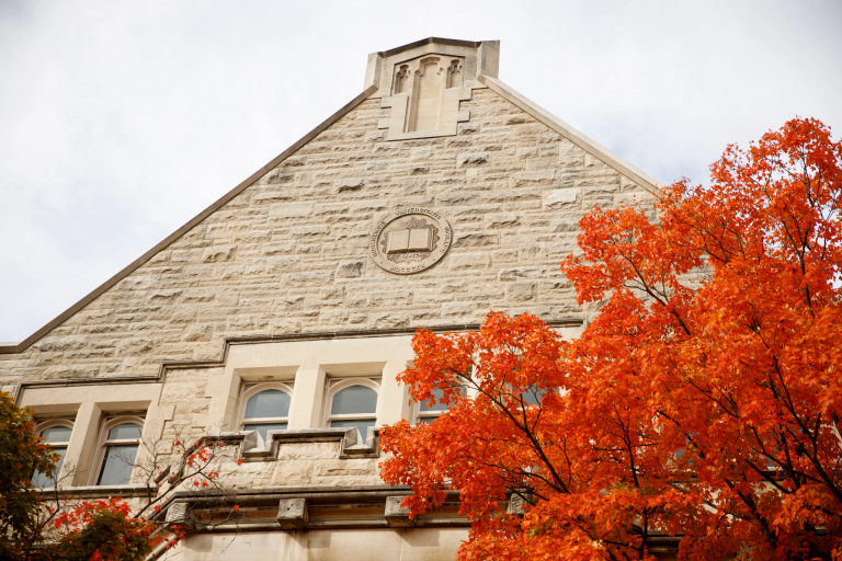 Franklin Hall on the IU Bloomington campus