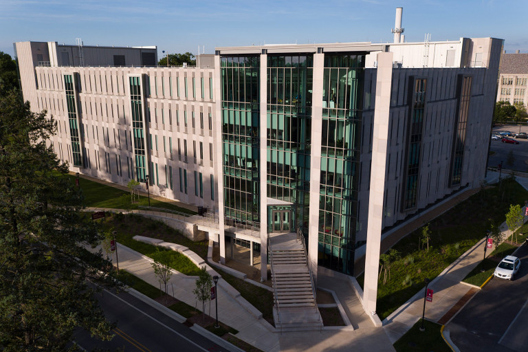 Luddy Hall, home of the Luddy School of Informatics, Computing and Engineering