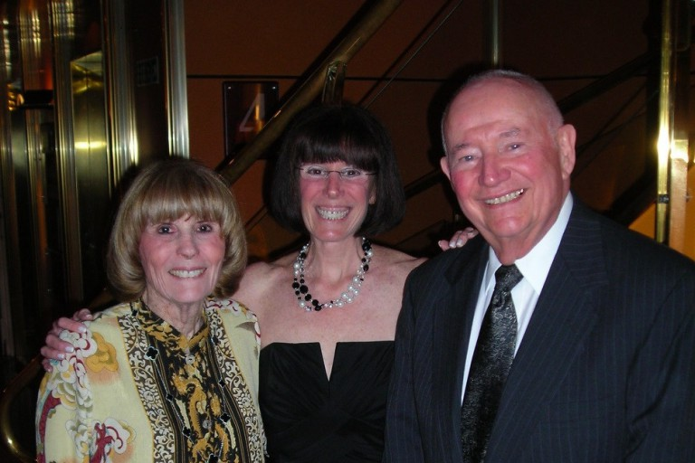 From left, Maxine 'Max' Tanis, Elizabeth Tanis and Dr. Arnold 'Bud' Tanis