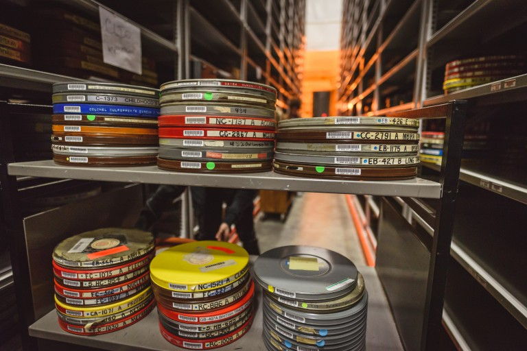 Film files that are part of the IU Libraries' collection