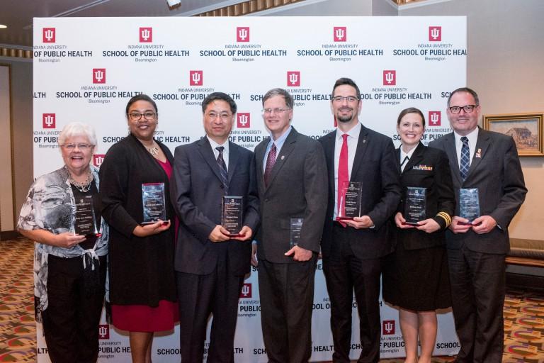 IU School of Public Health-Bloomington distinguished alumni.