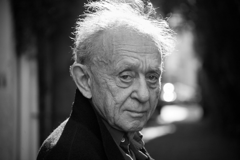 "Portrait of ""Filmmaker to Filmmaker"" presenter Frederick Wiseman."