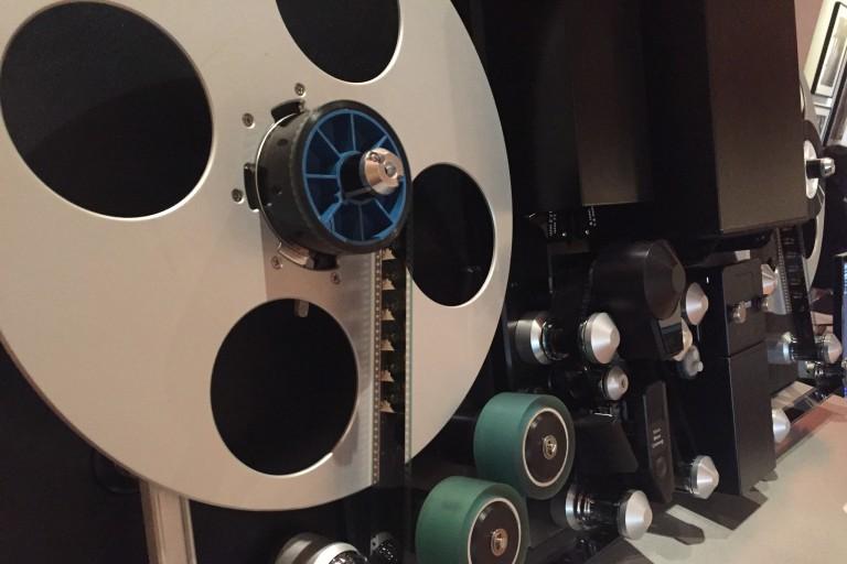 Film digitization scanner