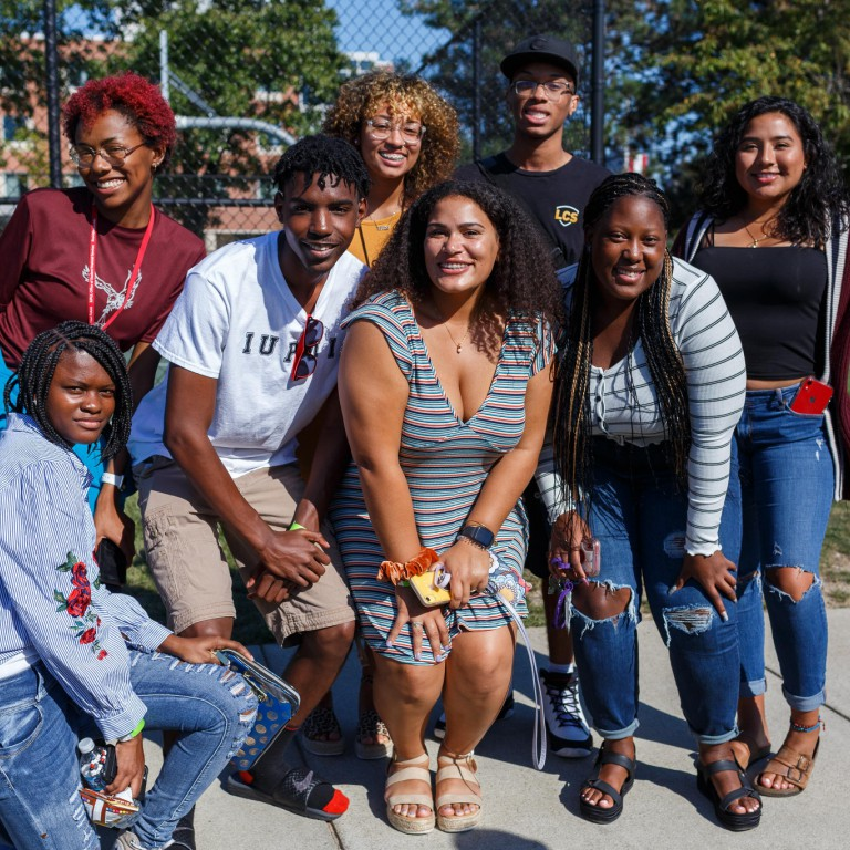 Black students were welcomed back at The Cookout.