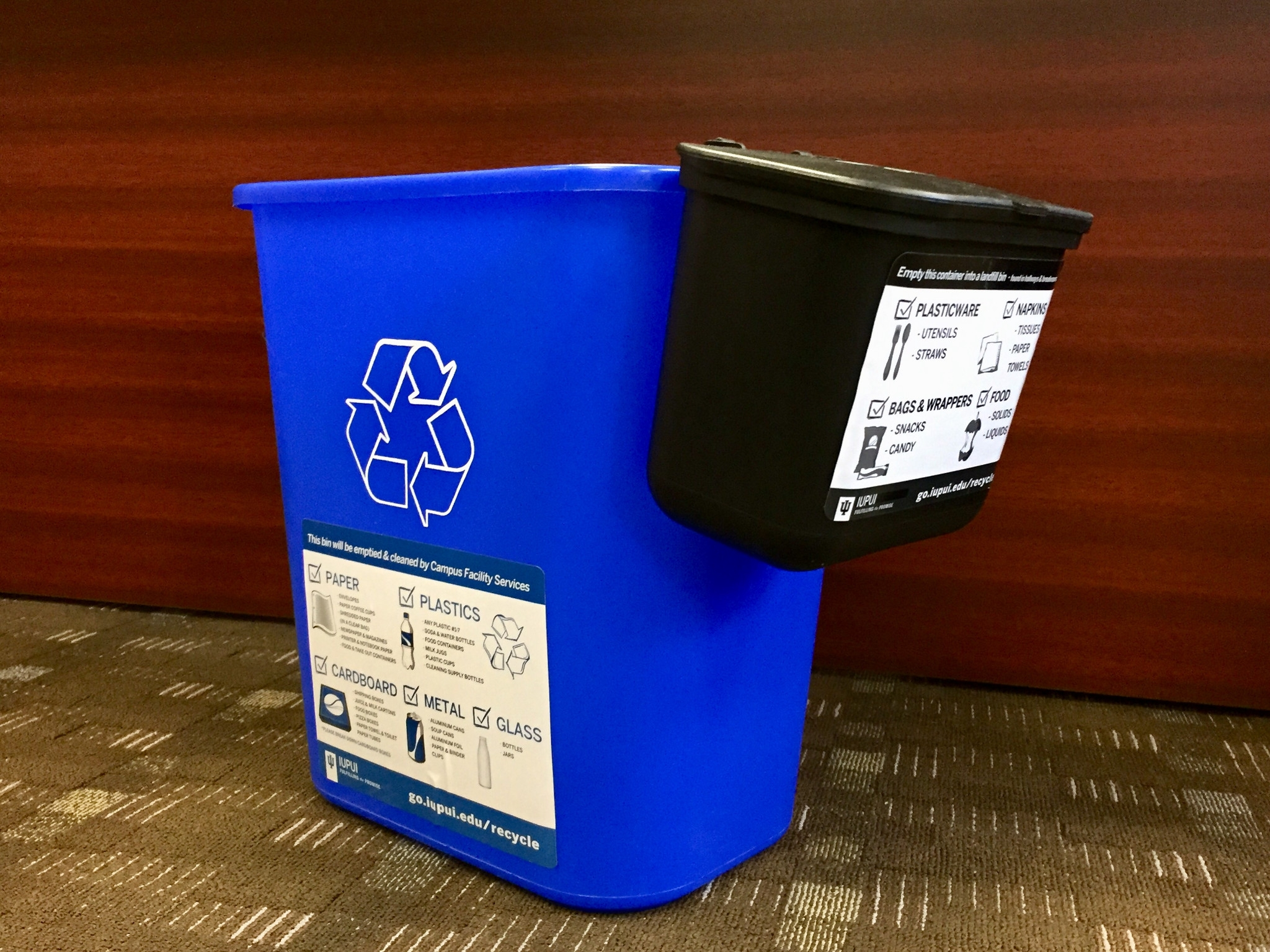 Desk-side recycling program expands: News at IU: Indiana