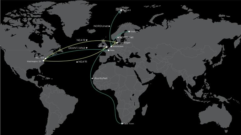 NEA3R network maps