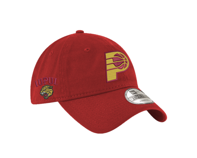 IUPUI/Pacers co-branded New Era hat